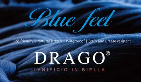 Drago Blue Feel Italian Fabrics