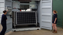 Containerized Microgrids, plug and p