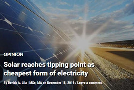 Solar reaches tipping point as cheapest form of electricity
