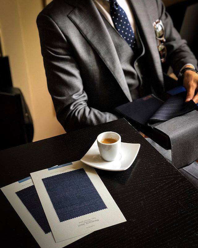 Espresso & Fabrics! These is what we liv