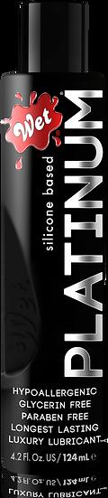 WET® PLATINUM® PREMIUM SILICONE-BASED LUBRICANT 4.2 Oz.