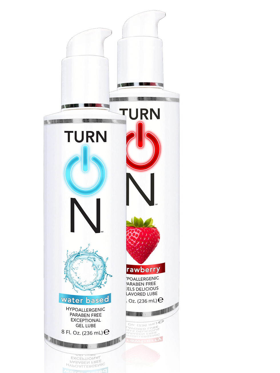 TurnOn bottle of sex lube
