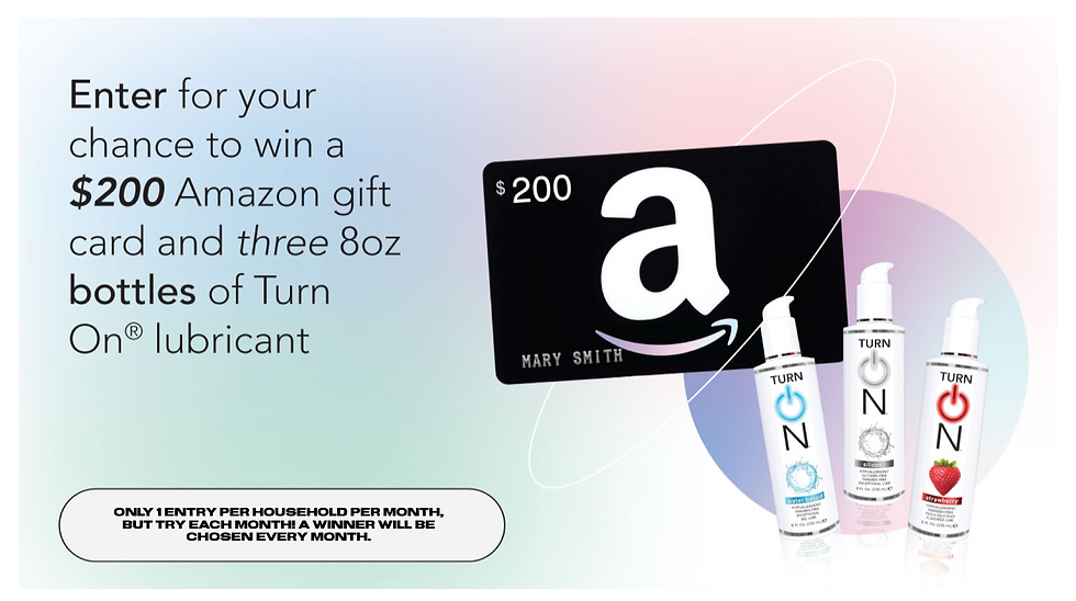 Lube Sweepstakes Card