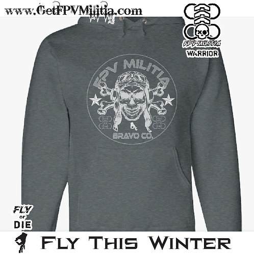 FPV Militia BRAVO COMPANY HOODIE (Black Edition)