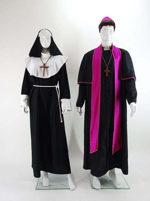 Prêtre et nonne