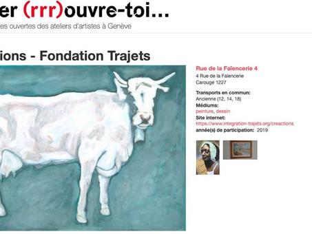 Atelier (rrr) ouvre-toi - Week-end portes ouvertes des ateliers d'artistes à Genève