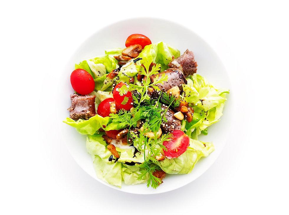 Salade de saucisses