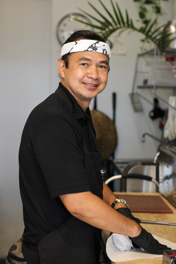 Chef Rene, Owner of Thank Que Grill