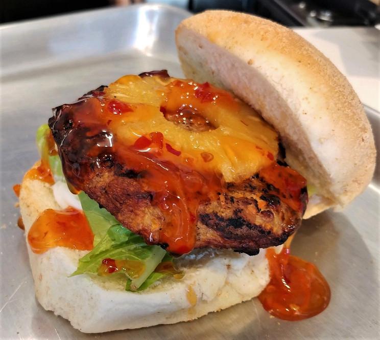 Lumpia Burger