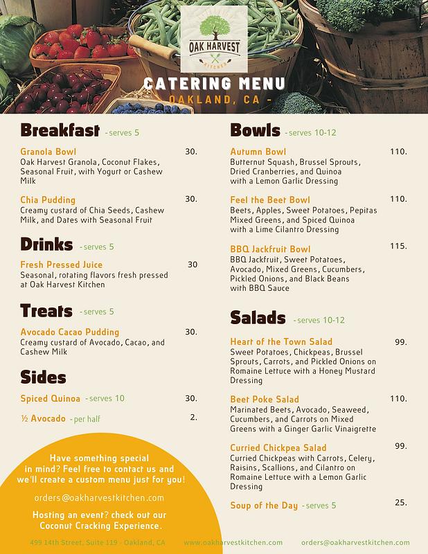 Oak Harvest Kitchen - Catering Menu (2).