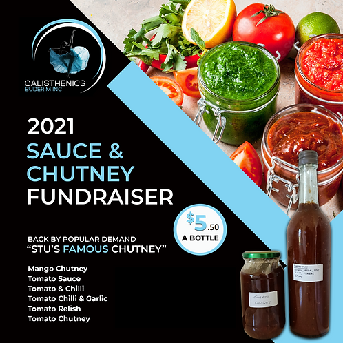 Sauce & Chutney Fundraiser