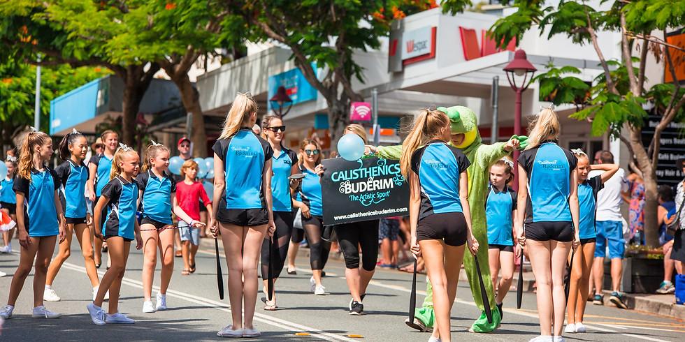 Australia Day on Buderim Mountain Parade