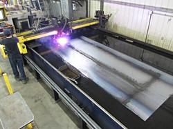 Table de coupe ESAB plasma-oxyfuel