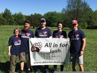 Update on Josh...Homeward Bound! 4/28/17