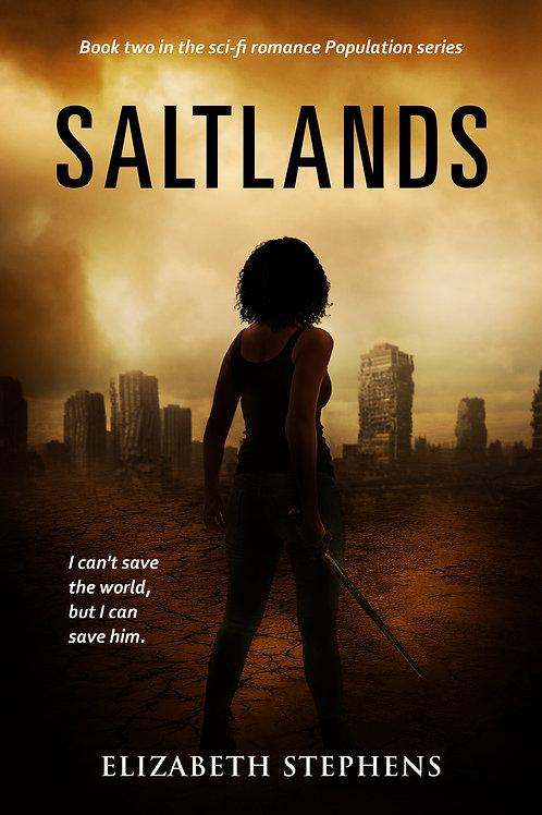 Saltlands: An Alien Invasion SciFi Romance (Population Book 2)