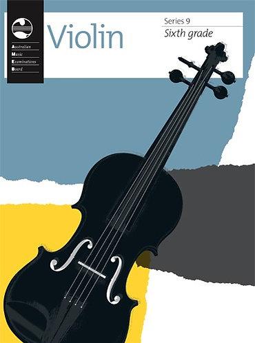 AMEB Violin Series 9 Grade 6
