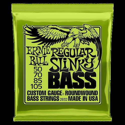 Ernie Ball Electric Bass Strings 50-105 Regular Slinky