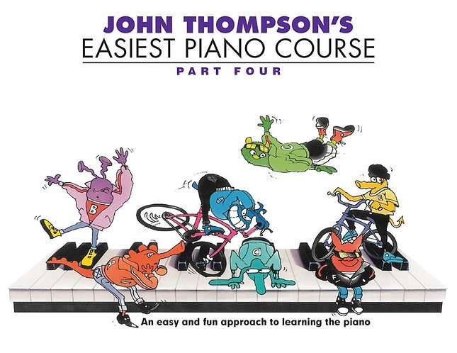 John Thompson's Easiest Piano Course - Part4