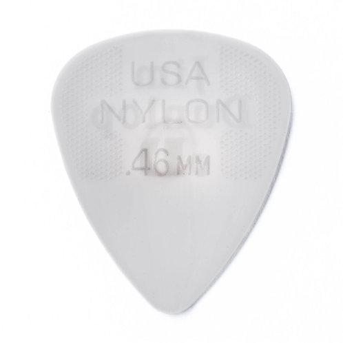 Dunlop Nylon Guitar Pick 12 Pack (.46mm) Grey