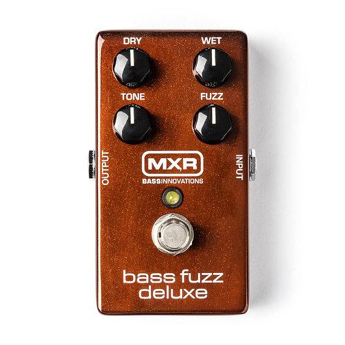 MXR Effects Pedal Bass Fuzz Deluxe