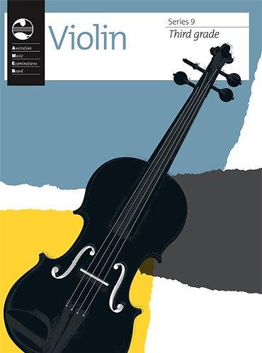 AMEB Violin Series 9 Grade 3