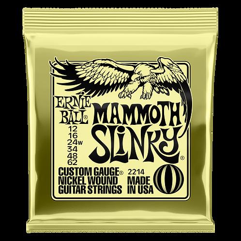 Ernie Ball Electric Guitar Strings 12-62 Mammoth Slinky