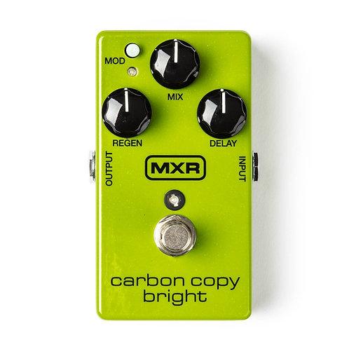 MXR Effects Pedal Carbon Copy Bright