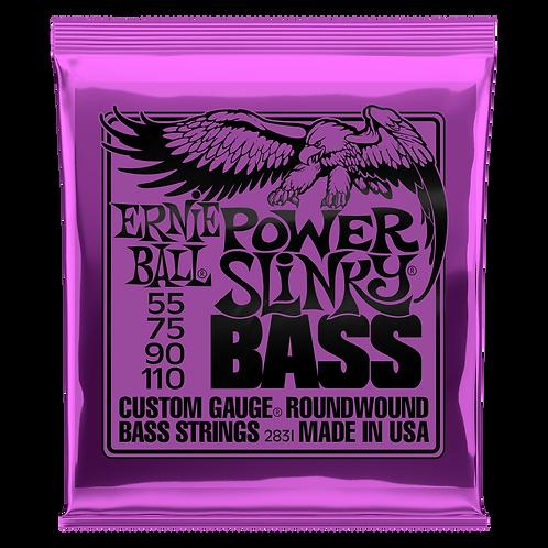 Ernie Ball Electric Bass Strings 55-110 Power Slinky