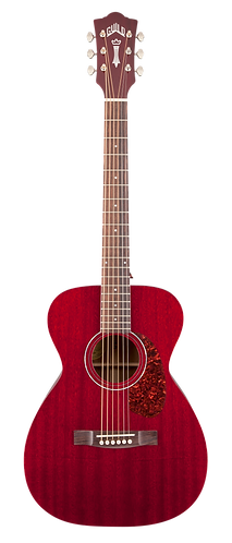 Guild M-120E Solid Mahogany Acoustic/Electric (Cherry)