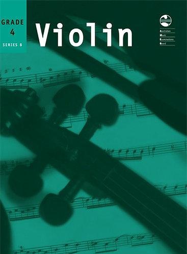 AMEB Violin Series 8 Grade 4
