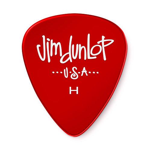 Dunlop GEL Guitar Pick 12 Pack (Heavy) Red