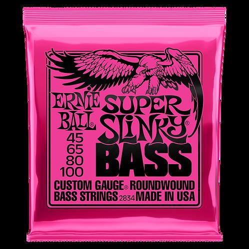 Ernie Ball Electric Bass Strings 40-100 Super Slinky