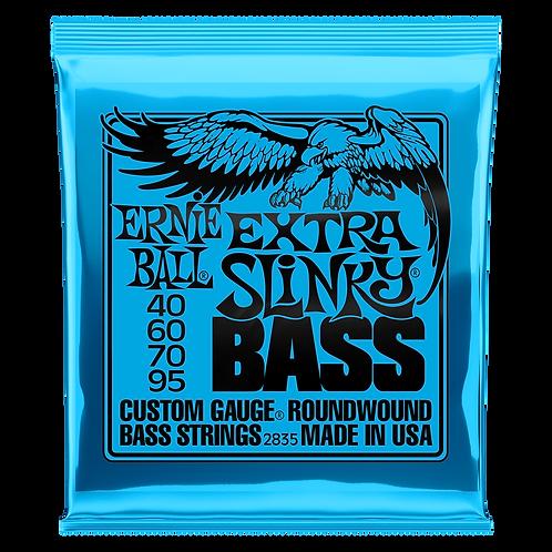 Ernie Ball Electric Bass Strings 40-95 Extra Slinky