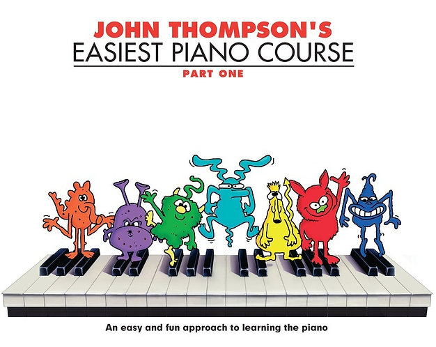 John Thompson's Easiest Piano Course - Part 1