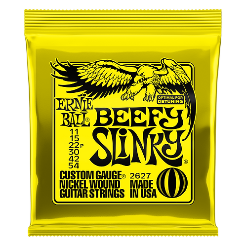 Ernie Ball Electric Guitar Strings 11-54 Beefy Slinky