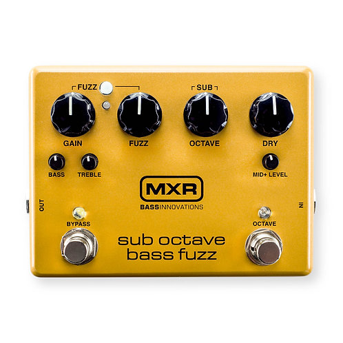 MXR Effects Pedal Sub Octave Bass Fuzz