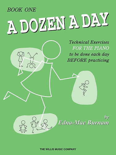 A Dozen a Day Book 1 (Elementary)