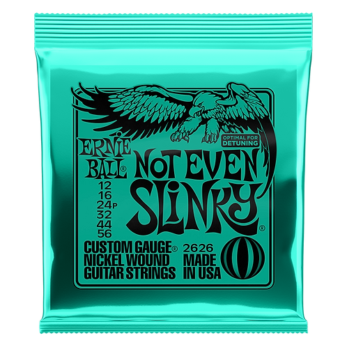 Ernie Ball Electric Guitar Strings 12-56 Not Even Slinky