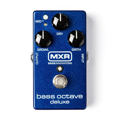 MXR Effects Pedal Bass Octave Deluxe