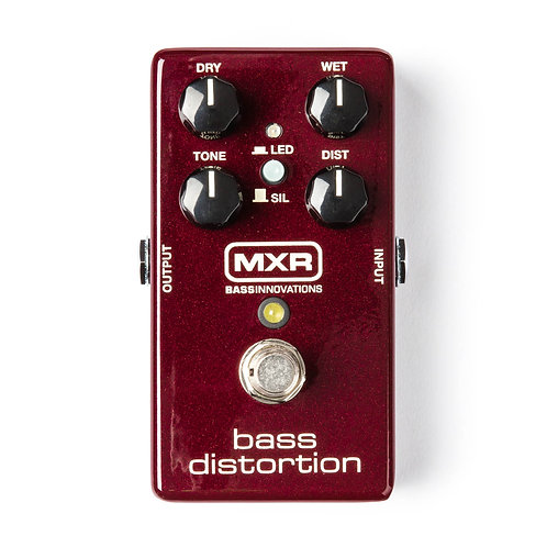 MXR Effects Pedal Bass Distortion