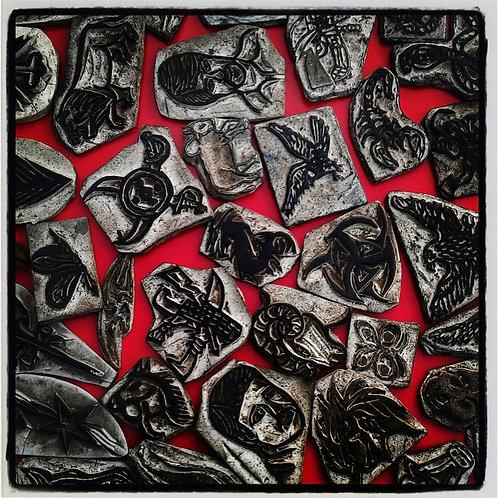 "Fragments, Archival Pigment Print, 12""x12"", Abul Kalam Azad, 2013 - 15"