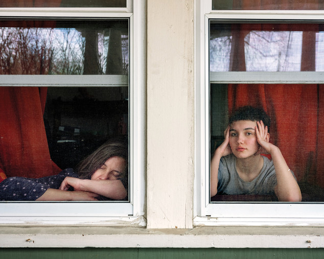 On Either Side of the Window  2020 © Rania Matar