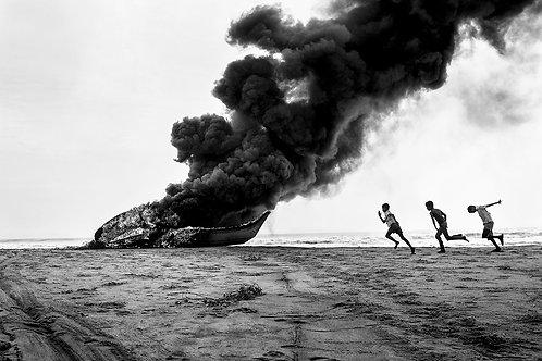 "Untitled, Archival Pigment Print, 12""x8"", Mouhamed Moustapha"