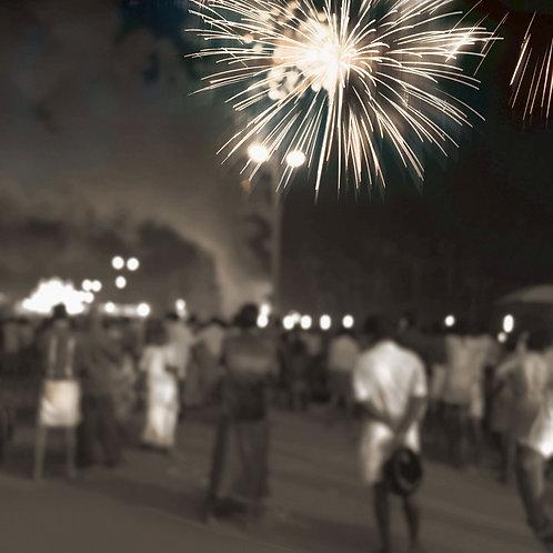 """Fireworks   24""""x24""""   2020"""