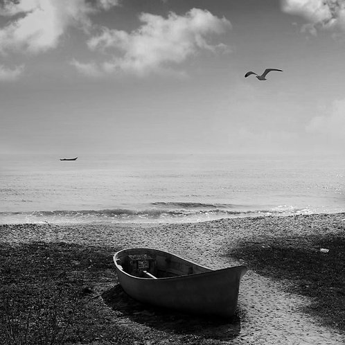 Lonely boat, 2011