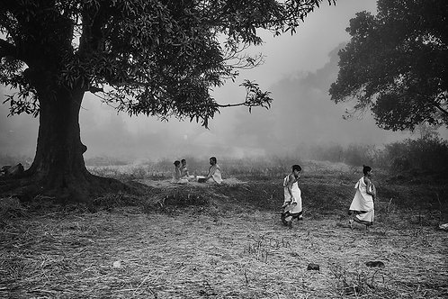 """Off to Home, Archival Pigment Print, 12""""x8"""", Padmanabhan"""