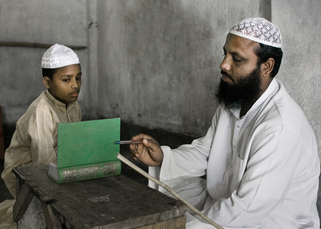 Over hundreds of Muslims youth study at Mozaherul Ulum Islamia Madrassa in Dhubri.