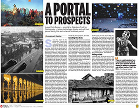 Indian Express covers Artists Pledge Covid 19 response project for photographers.