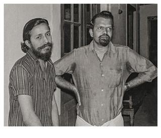 Film directors John Abraham and G Aravindan