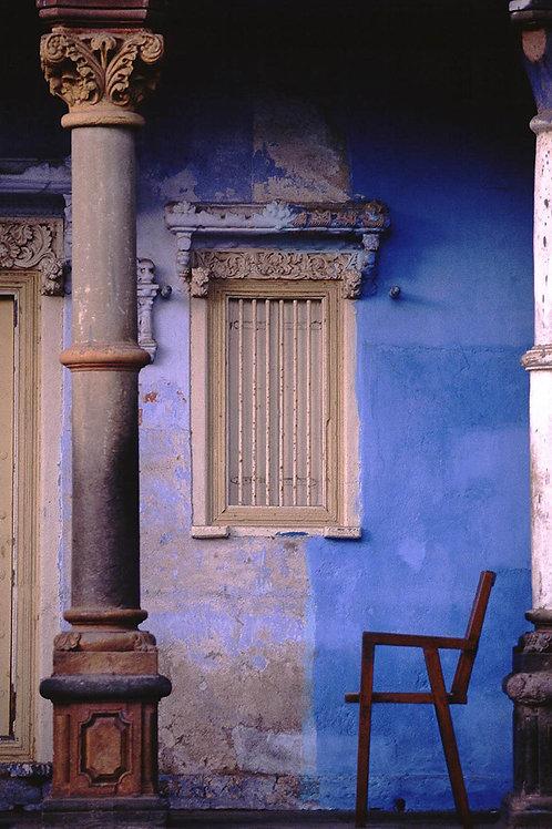 "Pillar and a Chair, Archival Pigment Print, 20""x30"", Dinesh Khanna"